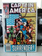Marvel Comics Captain America Issue 345 Newsstand Issue - Bagged/boarded/mylar