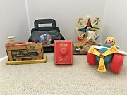 Vintage Fisher Price Lot - 171 728 969 759 2010 Medical Kit, Ferris Wheel And More