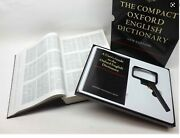 The Compact Oxford English Dictionary - New Edition - Hardback - New