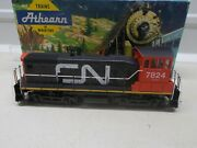Athearn Canadian National Sw 1500 Powered Locomotive 7824 Ho Scale