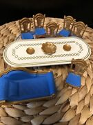 Royal Banquet Feasting Dining Room Furniture For Castle From Playmobil 3021 Rare