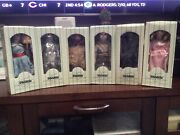 Seymour Mann Wizard Of Oz Storybook Tiny Tots Doll Collection Lot Of 6 New