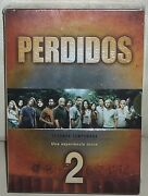 Lost 2º Season Complete Pack 7 Dvd New Sealed Series Sleeveless Open R2