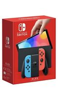 Sold Out Nintendo Switch Oled Console Neon Red And Blue Joy-con Same Day Ship