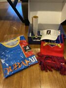 Ted Lasso Loot Crate Large. Apple Tv+ Jersey Scarf Set Box Afc New Richmond