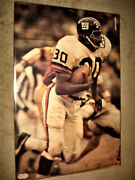 Super Rare 1971 Ron Johnson Sports Illustrated Si Poster New York Giants Nfl