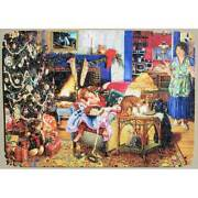 Stave Puzzle Christmas Thieves Excellent Condition 360 Pieces