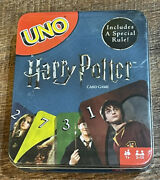 Harry Potter Uno Card Game In Metal Tin Includes A Special Rule Brand New Sealed