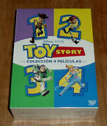 Toy Story Collection 4 Films 4 Dvd New Sealed Disney Sleeveless Open R2