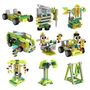 100 In1 Robot Building Kits For Kids Scratch Stem Educational Coding Remote Toy