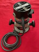 Porter Cable Router Motor 6902 Type 5 With 1001 Base No Case