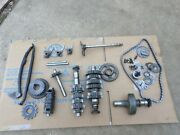 2005 Yamaha Raptor 660 Transmission Tranny Complete Perfect Gears Forks Chain