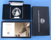 1994 Us Capitol Commemorative Proof Silver Dollar With Box And Coa