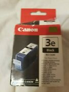 Canon 3 E Black Bci 3ebk Ink 1 Cartridge Sealed No Exp Date Listed