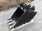 New 24 Backhoe Bucket For A Ford 655e With Coupler Pins