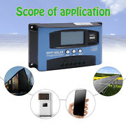 Solar Panel Regulator Charge Controller 20/30/60/100a 12/24v Auto Focus Tracking