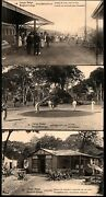 8.20.belgian Congo,16 Old 30c.stationery Real Photo Postcards Lot