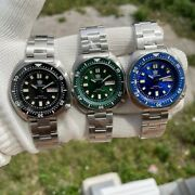 Steeldive Sd1970w Willard 6105-8110 Turtle Nh36a Day/date Automatic Watch Diver