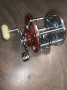 Penn Peer 309 Level Wind Fishing Reel Made In The Usa Good Condition