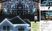 Christmas Lights Outdoor Decorations 1216 Led 99ft 8 1216 Led 99 Ft Cool White