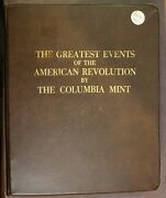 Greatest Events Of American Revolution Full 50 Pc Silver Bar Set 000331