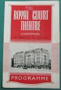 Royal Court Theatre Liverpool 1947 Programme The Eagle Has Two Heads Cocteau