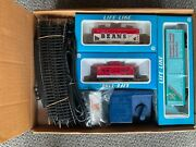 Pair Of Vintage 1982 Life-like Campbell's Soup Promotional Train Set Ho, N.i.b.