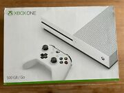 Microsoft Xbox One 500gb White Console With 2 Controllers Power Cord Hdmi Cable