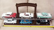 National Motor Museum Mint 6 Car Display Arko 132 Diecast Ford Chevy Oldsmobile