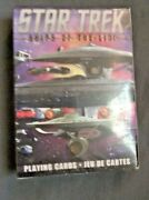 Star Trek Playing Cards- Ships Of The Line And 18 Ships Collection Place Cards