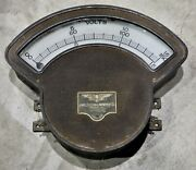 Vintage Volts Electric Meter-jewell Electric-from Old Main. Detroit Wsu