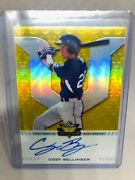 2017 Leaf Valiant Cody Bellinger Auto 06/10 Yellow Prism Rookie Card Rc Roy