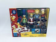 Playmates The Simpsons Family Christmas Toys R Us Exclusive Wos
