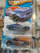 Hotwheels Treasure Hunt And Ford Mustang Gt Concept Lot Of 2