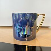 Walt Disney World 50th Anniversary Coffee Mug Cup October 1st Limited Release
