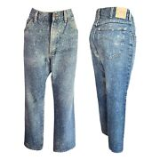 Lee Vintage Jeans Acid Washed Jeans High Waisted Jeans Mom Jeans - Women's 34x29