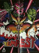 Atari Tempest Poster Vintage Reproductions 2012 18 By 42 Inches