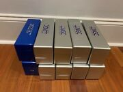 Lot Of 10 Ten 8 Ngc / 2 Pcgs Silver/blue 20 Slab Plastic Storage Boxes Used