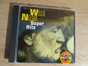 Pre-owned Willie Nelson Super Hits Cd Free Shipping