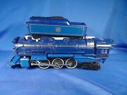 Lionel 8801 Jersey Central Blue Comet And Tender With Sound Of Steam