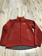 Menandrsquos The Apex Insulated Mountain Red Jacket Size M Perfect