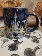 Walt Disney World 50th Anniversary Mickey Mouse And Friends Ceramic Mug Sold Out