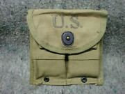 Wwii Us M1 Carbine Mag Belt Pouch Gamlin Fashsions Of America Inc 1944