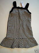 Nwt Gymboree Holiday Friend Houndstooth Jumper Dress 7