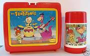 Dennyand039s Flintstones Lunchbox And Thermos Kit The Dinos