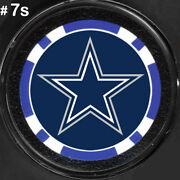 Nfl Dallas Cowboys Poker Chip Card Guards Texas Hold N