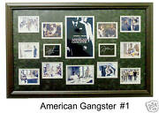 American Gangster Framed Photo Collage 24x36