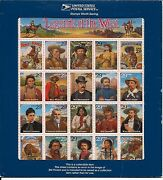 2870 Recalled Legends Of The West Sheetlet Of 20