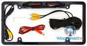 Black Backup Night Vision 170anddeg Angle Color Camera Plate For Pioneer Dvd Screen