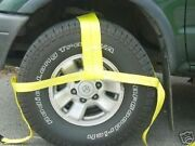 4 -13-35 Tow Dolly Straps Tie Down Rollback 4x4 Clevis Towing Axle Shackle